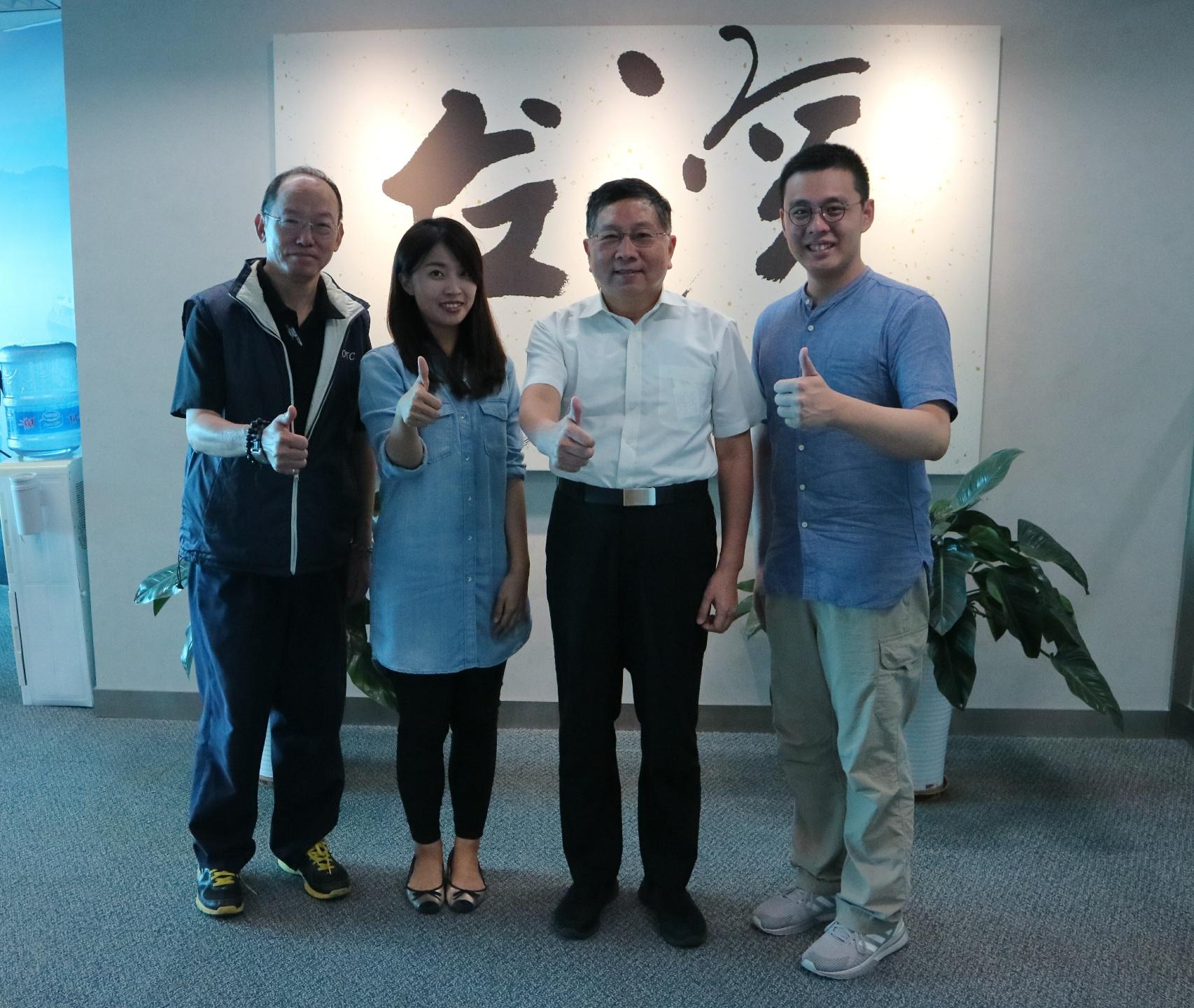 台湾媒体参访本处