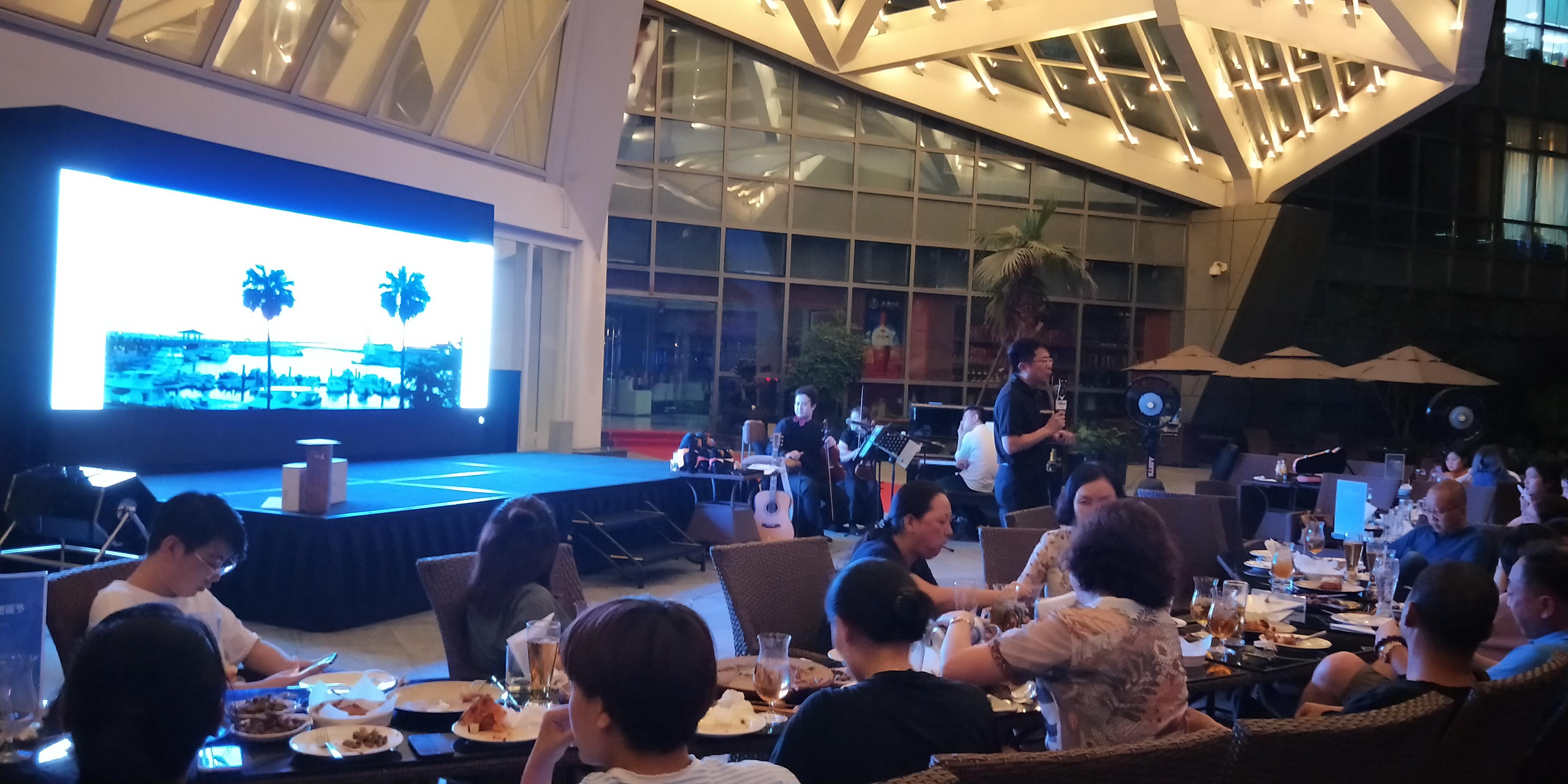 本处在成都用别样的音乐会推广台湾旅游