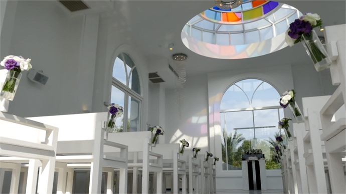 浪漫台湾度假婚礼*宜兰、北海岸─水上教堂异国浪漫